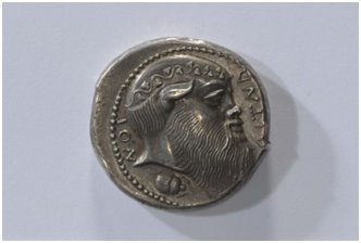 Coin with a Head of Silenos