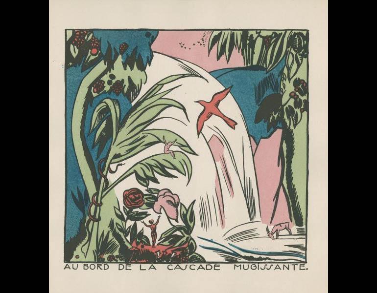 Legrand, E. (1919). Macao et Cosmage, ou l'experience du bonheu, 7. Paris: Nouvelle revue francaise. Gift of Irvin & Gormley, call number: PZ23 .L497 M33 1919