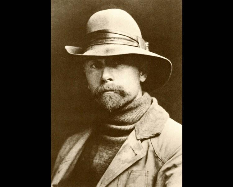 Curtis, Edward S. (American, 1868-1952). Self portrait, 1899.