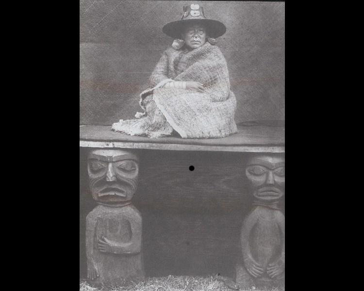 Curtis, Edward S. (American, 1868-1952). Nakoaktok chief's daughter. Photograph. University of California, San Diego. ARTstor 41822001227030