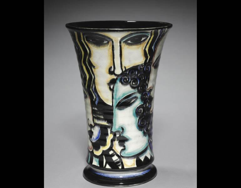 Viktor Schreckengost (American, 1906-2008). The Seasons Vase, 1931-32. Ceramic. Hinman B. Hurlbut Collection 1932.964