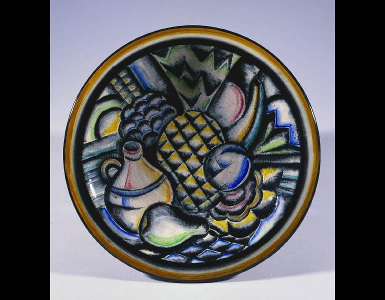 Viktor Schreckengost (American, 1906-2008). Plaque: Still Life, 1931-32. Ceramic. Hinman B. Hurlbut Collection 1932.963