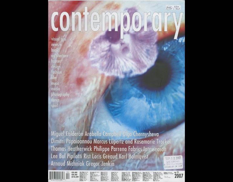 Contemporary, no. 92, 2007. IML 959004