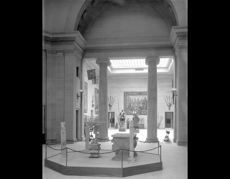 Inaugural Exhibition - Rotunda and Armor Court. IML 963840