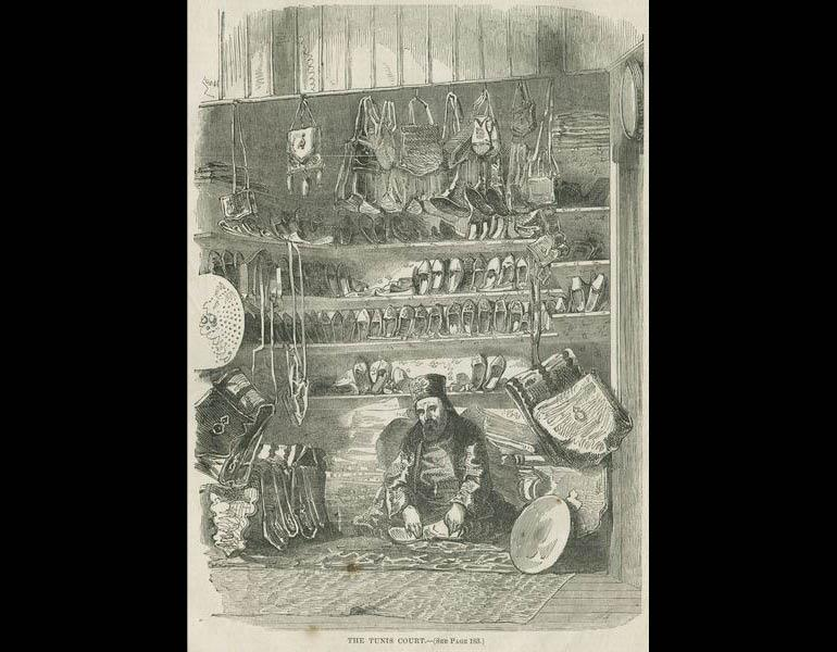 Tunis Court. The Crystal Palace and its Contents... p. 181. IML 971861