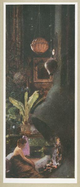 The Studio, painted in 1896 (page 10A).