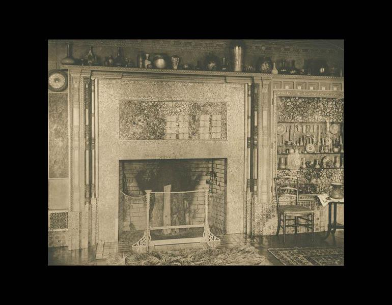 A Mantel and Fireplace, Seventy-second Street House (page 58A).