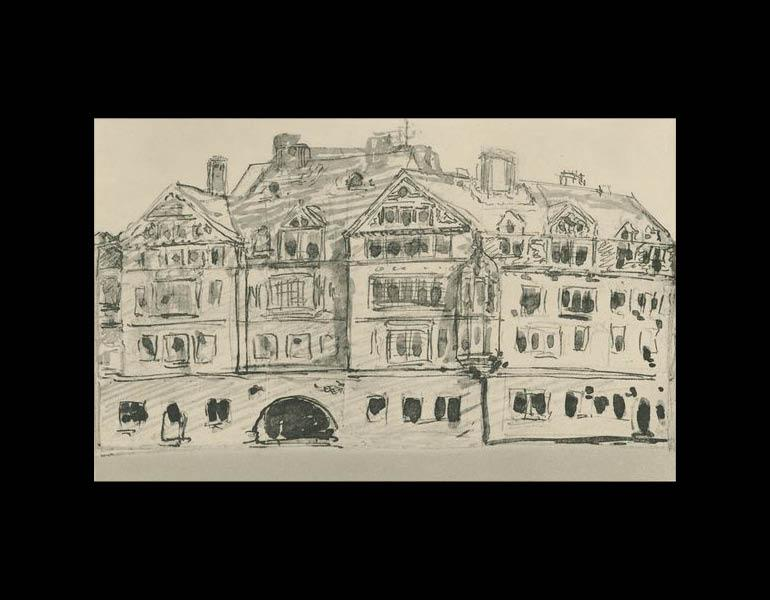 Mr. Tiffany's Original Sketch, for the Seventy-second Street House (page 56C).