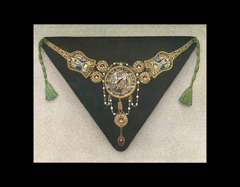 Necklace, from the Walters Collection (page 32A).