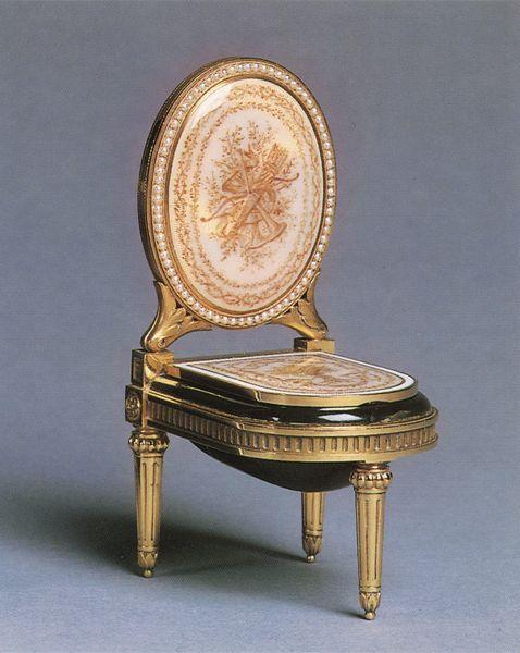 Miniature bidet, p. 113. Minshall, India Early, Fabergé: From the Collection of India Minshall (Cleveland, OH, 1965).