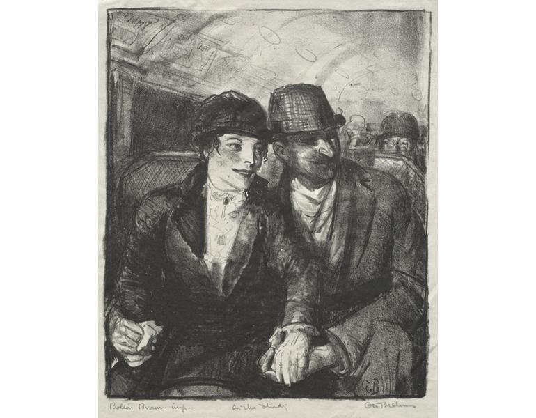"CMA, 1937.502 ""In the Subway"""