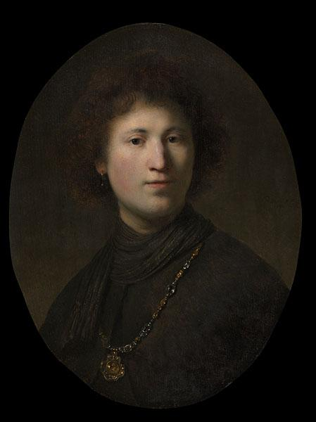 A Young Man with a Chain, 1632. Rembrandt van Rijn (Dutch, 1606–1669) and studio. Oil on wood; 57.8 x 43.8 cm. Bequest of John L. Severance 1942.644