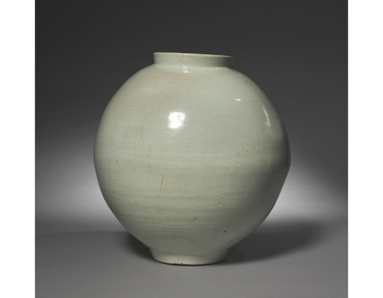 Jar, 1700s. Korea, Joseon dynasty (1392–1910). The Cleveland Museum of Art, 1983.28