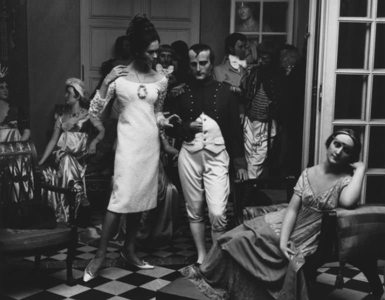 """Musée Grevine, Paris, Vogue,"" 1963. William Klein. CMA 1989.444"