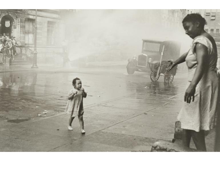 """New York"" Helen Levitt CMA, 1990.134"
