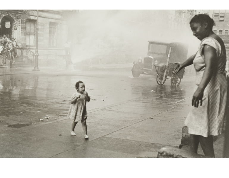 """New York"" Helen Levitt CMA, 1990.134"