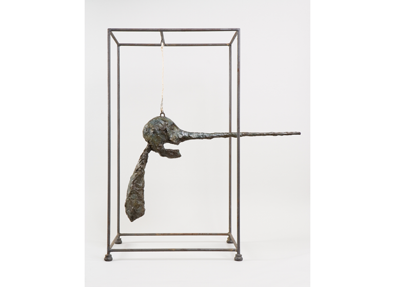 The Nose, 1947. © Estate of Alberto Giacometti / Artists Rights Society, New York