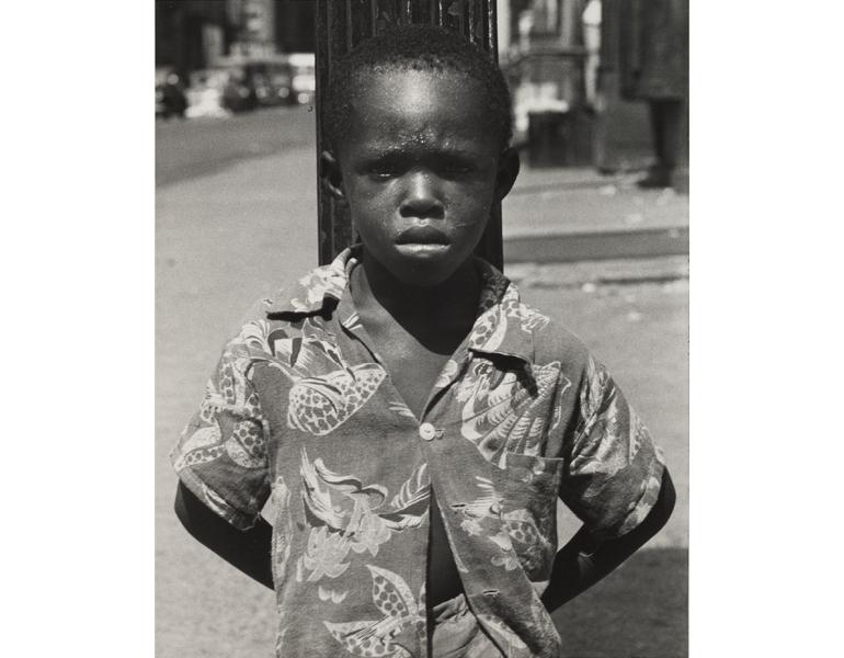 """David, New York"" Roy DeCarava CMA, 1996.20"