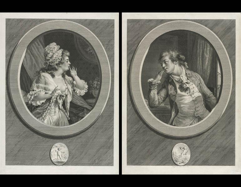 elegance and intrigue french society in th century prints and  you are here