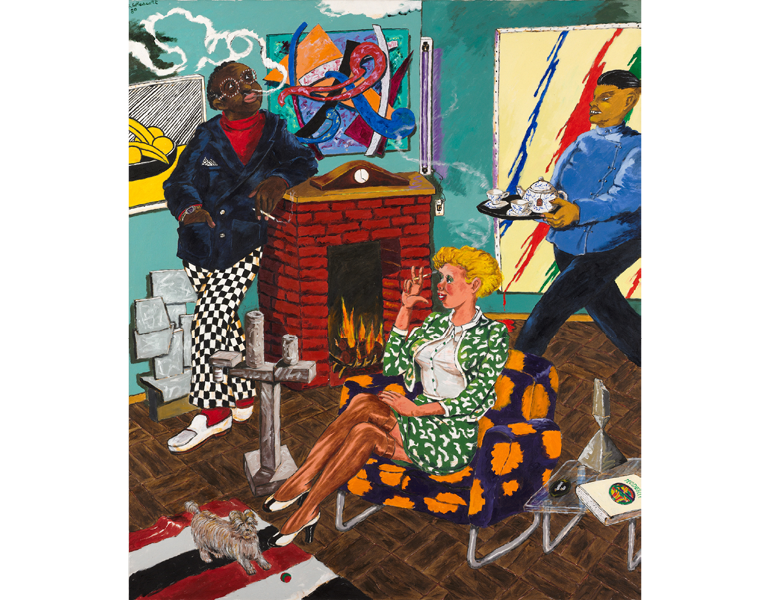CMA, 2017.128. © 2020 The Robert H. Colescott Separate Property Trust / Artists Rights Society (ARS), New York