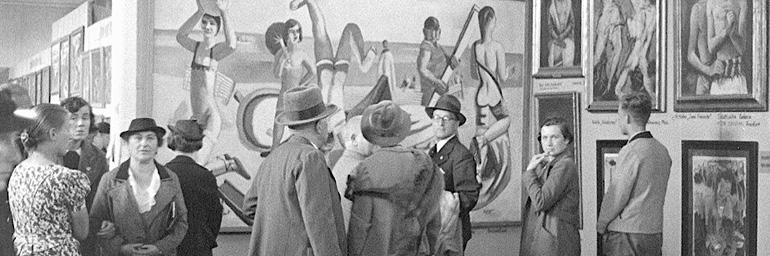 Discover Arts Series: Hitler vs. Picasso and the Others
