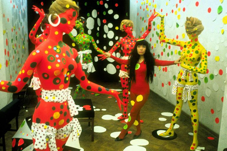 "Image from film ""Kusama - Infinity"""