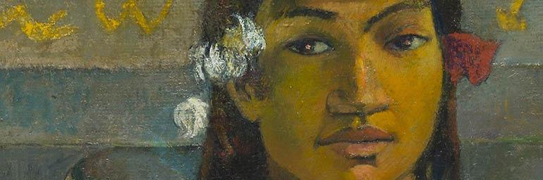 "Image from ""Gauguin from the National Gallery, London"""