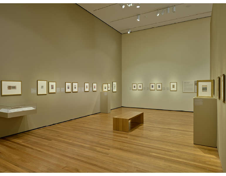 Installation view of Gallery 242B, March 2021. Photo by David Brichford