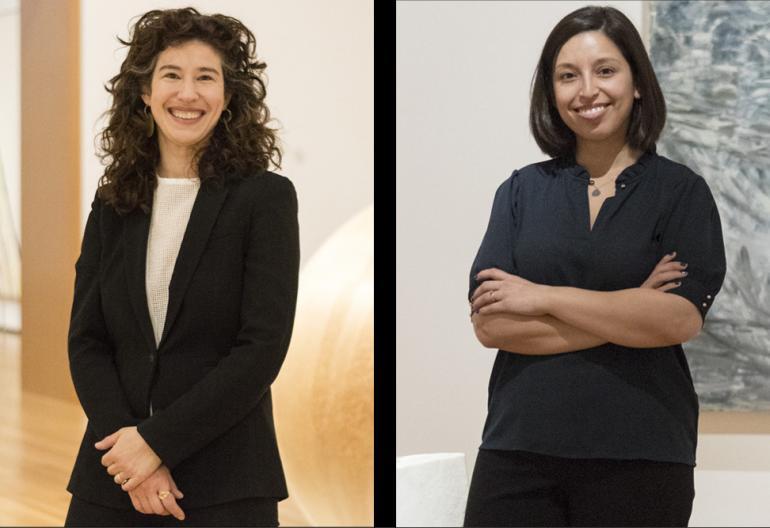 Emily Liebert and Nadiah Rivera Fellah. Photos courtesy Amber N. Ford