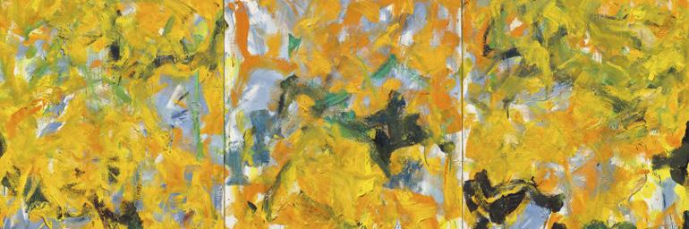 CMA, Promised Gift of Nancy F. and Joseph P. Keithley, 21.2020 (detail). © Estate of Joan Mitchell