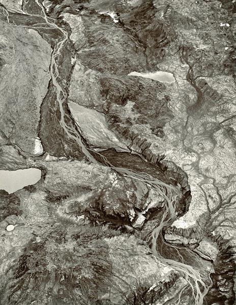 Braided streams of the Toutle River west of Mount St. Helens,Washington, 1981. Emmet Gowin (American, born 1941). Gelatin silver print; 11 x 14 in. © Emmet and Edith Gowin; courtesy Pace/MacGill Gallery, New York