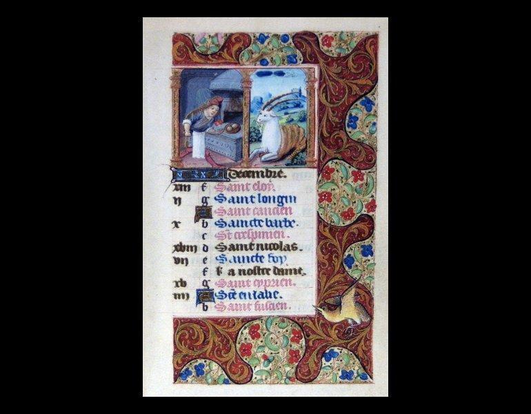 Officium beatae Mariae Virginis. Roma: Istituto poligrafico e Zecca dello Stato, Libreria dello Stato, 2003. [ISBN 8824034551]. Rare Book. ND3363.A1 O343 2003. IML 986572