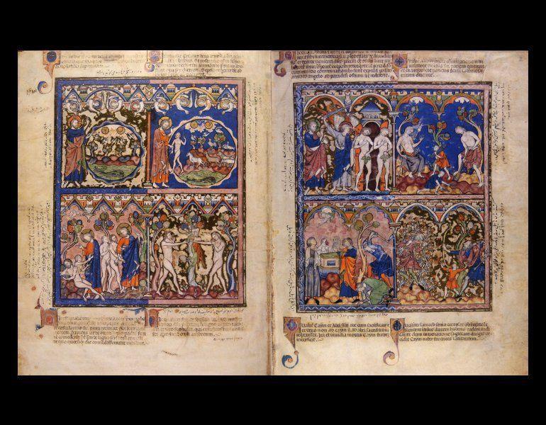 Die Kreuzritterbibel = The Morgan Crusader Bible = La Bible des Crusades. Luzern: Faksimile Verlag Luzern, c1998-1999. [ISBN 3856720626 (Faksimile)]. Rare Book. ND3355.5.K74 K74 1998. IML 986573