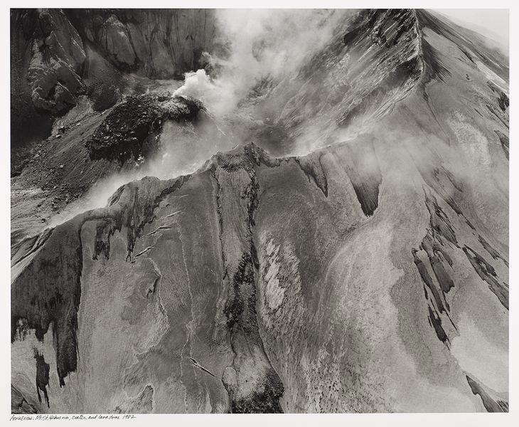 Mount St. Helens, rim, crater, and lava dome, 1982. Frank Gohlke (American, born 1942). Gelatin silver print; 37 7/8 x 43 5/8 in. © Frank Gohlke / courtesy: Howard Greenberg Gallery