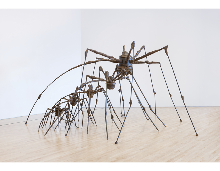 """""""The Nest"""" Louise Bourgeois. San Francisco Museum of Modern Art, 98.193.A-E. © The Easton Foundation"""
