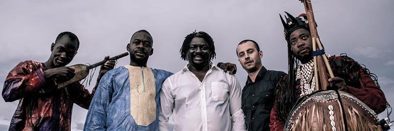 Image of BKO Quintet. Courtesy of ALIA Productions