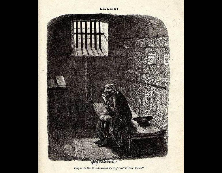 Fagin in the Condemned Cell, from Oliver Twist. http://images.google.com, accessed 27 January 2009.