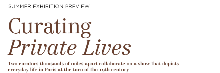 Curating Private Lives