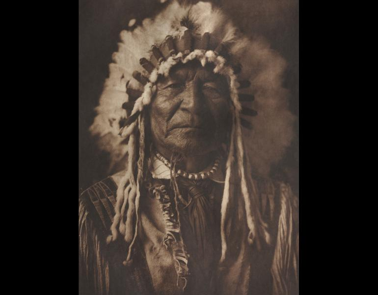 Sitting Bear, 1908. Edward S. Curtis (American, 1868–1952). Photogravure. Presented by Mrs. James H. Hoyt, Elton Hoyt, II, and Mrs. Amasa Stone Mather in memory of James H. Hoyt 1995.203.25.6