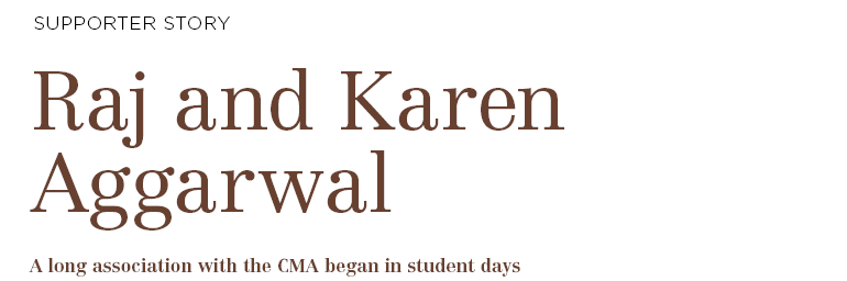 Raj and Karen Aggarwal