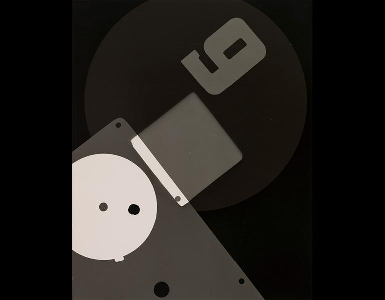 Photogram (Number 9), 1931. Edward Quigley (American, 1898–1977). Gelatin silver print, photogram; 20.7 x 16.6 cm. The Cleveland Museum of Art, John L. Severance Fund 2007.110
