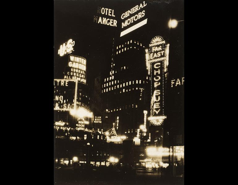 New York Montage, 1928. Thurman Rotan (American, 1903–1991). Gelatin silver print, montage; 11.5 x 8.2 cm. The Cleveland Museum of Art, John L. Severance Fund 2007.117
