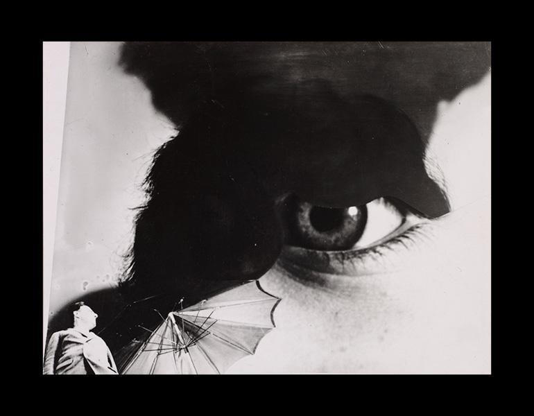 Photo Eye (Foto-Auge),1927, printed 1938–40. Anton Stankowski (German, 1906–1998). Gelatin silver print, montage, from negatives with handwork; 10.9 x 14.5 cm. The Cleveland Museum of Art, John L. Severance Fund 2007.122. © Stankowski-Stiftung