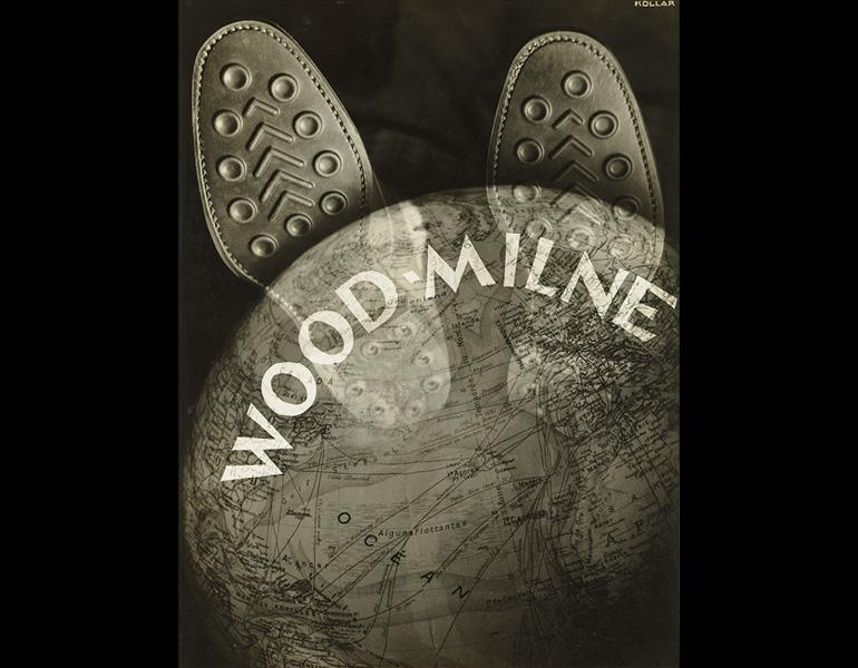 Wood-Milne, 1930. François Kollar (Slovak, 1904–1979). Gelatin silver print, montage; 37.5 x 28.1 cm. The Cleveland Museum of Art, John L. Severance Fund 2007.58. ©  Ministère de la Culture / Médiathèque du Patrimoine, Dist. RMN