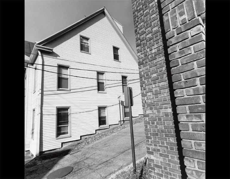 Tarrytown, New York, 2001. Lee Friedlander (American, born 1934). Gelatin silver print; 38.4 x 37.6 cm. The Museum of Modern Art, New York, Gift of the photographer. © 2009 Lee Friedlander