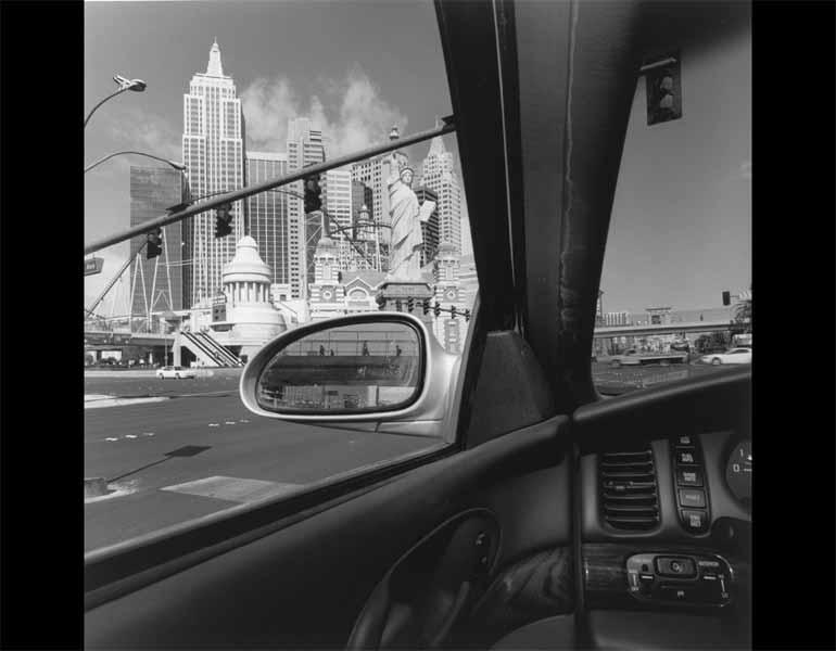 Las Vegas, Nevada, 2002. Lee Friedlander (American, born 1934). Gelatin silver print; 37.8 x 37.5 cm. The Museum of Modern Art, New York, Gift of the photographer. © 2009 Lee Friedlander