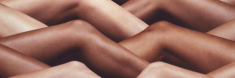 Your Skin Has the Power to Protect You (detail), from Unbranded, 2008. Hank Willis Thomas (American, born 1976). Digital chromogenic print; 65 1/2 x 51 1/2 in. The Cleveland Museum of Art, Purchase from the J. H. Wade Fund 2012.63 © Hank Willis Thomas.