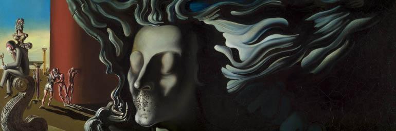 The Dream (detail), 1931. Salvador Dalí (Spanish, 1904-1989). Oil on canvas; 96 x 96 cm. John L. Severance Fund 2001.34 © Salvador Dali, Gala-Salvador Dali Foundation / Artists Rights Society (ARS), New York
