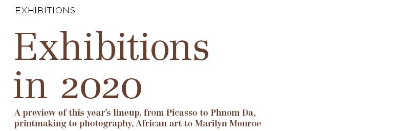 Exhibitions in 2020