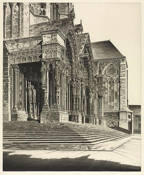 In Memorium, 1939. John Taylor Arms (American, 1887–1953). Etching; 37.3 x 30.6 cm. Gift of Carole W. and Charles B. Rosenblatt I-2011-007025/26
